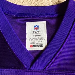 online store 33f70 03d49 Stefon Diggs Vikings Jersey xs adult/xl kids size